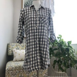 Victoria's Secret checkered flannel nighty